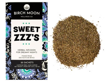 Sweet ZZZ's - 20 tea bags - Herbal Infusion for Dreamy Nights