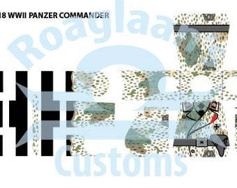 Brickmania Complete WWII German Panzer Commander