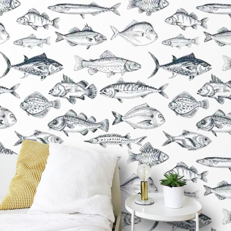 Peel and Stick Nautical Wallpaper Self Adhesive Wallpaper ...