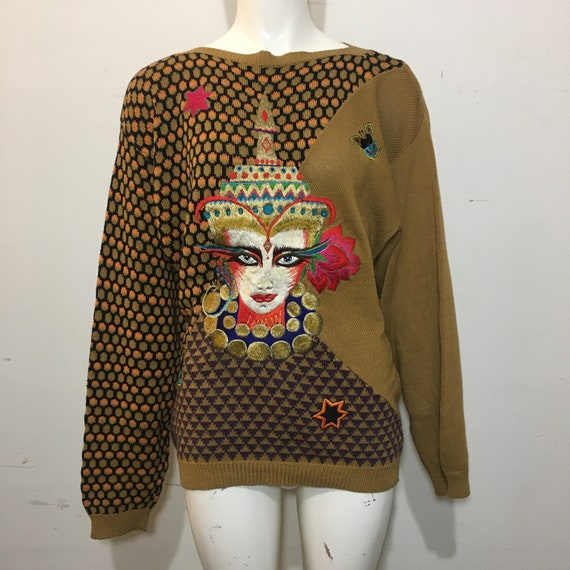 Vintage 1980s Kansai Yamamoto Sweater
