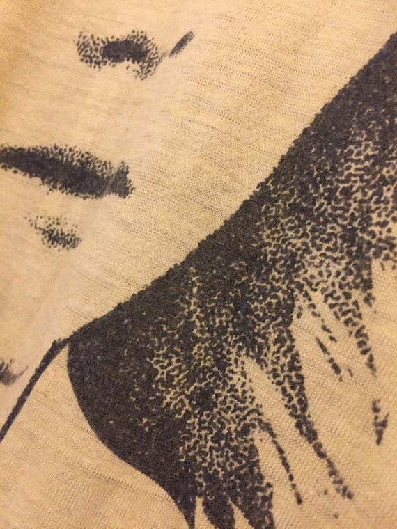 Early 1970s David Bowie T Shirt - image 3