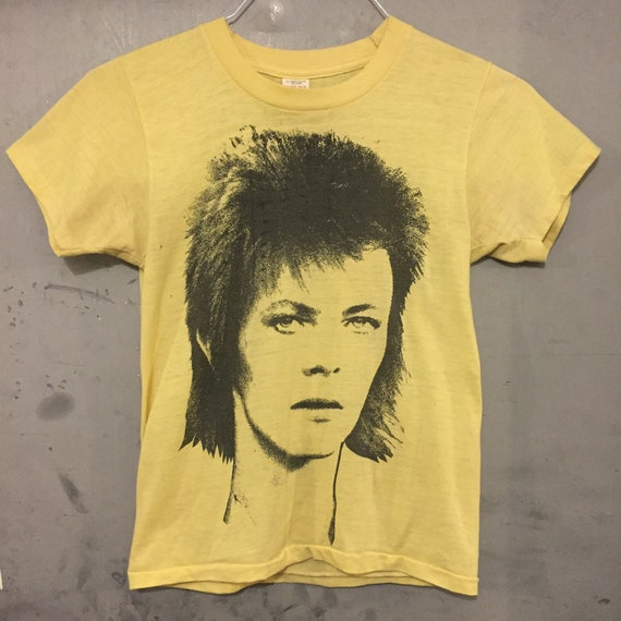 Early 1970s David Bowie T Shirt