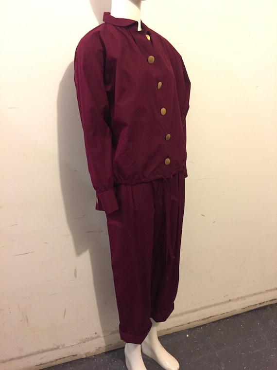Yves Saint Laurent 70s Womens Cotton 2pc Casual S… - image 2