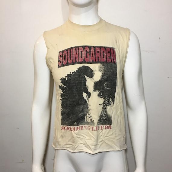 Soundgarden Screaming Live '88 Sleeveless Tour shi
