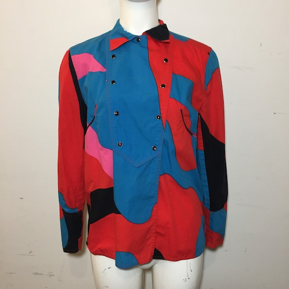 1987 Stephen Sprouse Andy Warhol Womens Western Ca