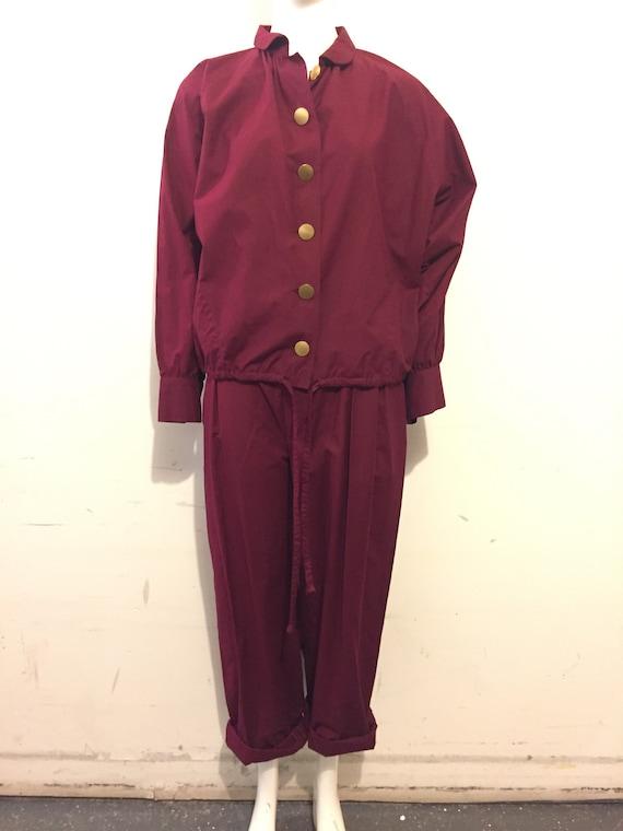 Yves Saint Laurent 70s Womens Cotton 2pc Casual S… - image 1