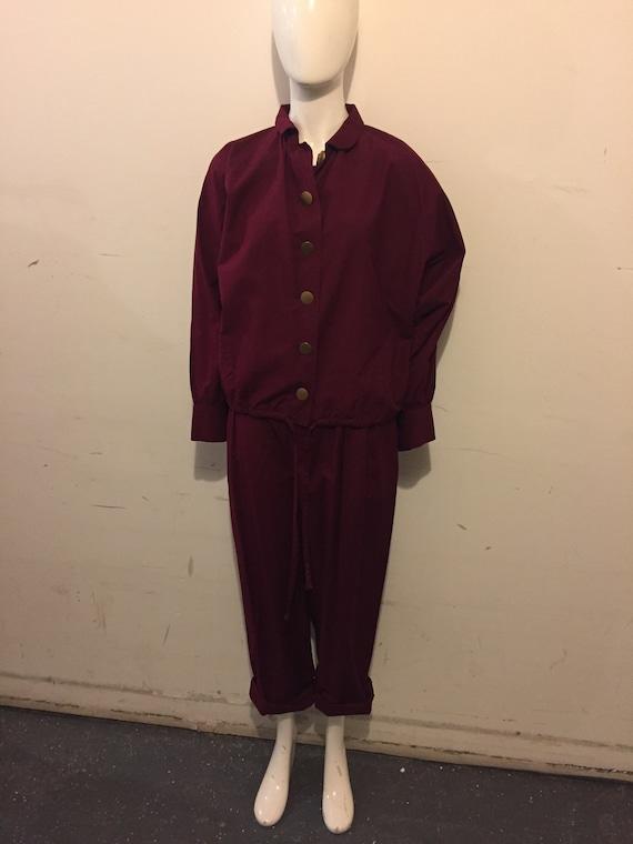 Yves Saint Laurent 70s Womens Cotton 2pc Casual S… - image 3