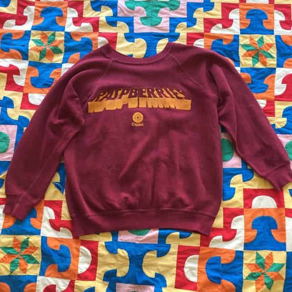 Raspberries Crew Neck Sweatshirt