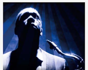 Poster/poster John Coltrane