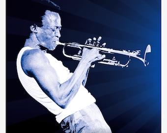 Miles Davis poster/poster