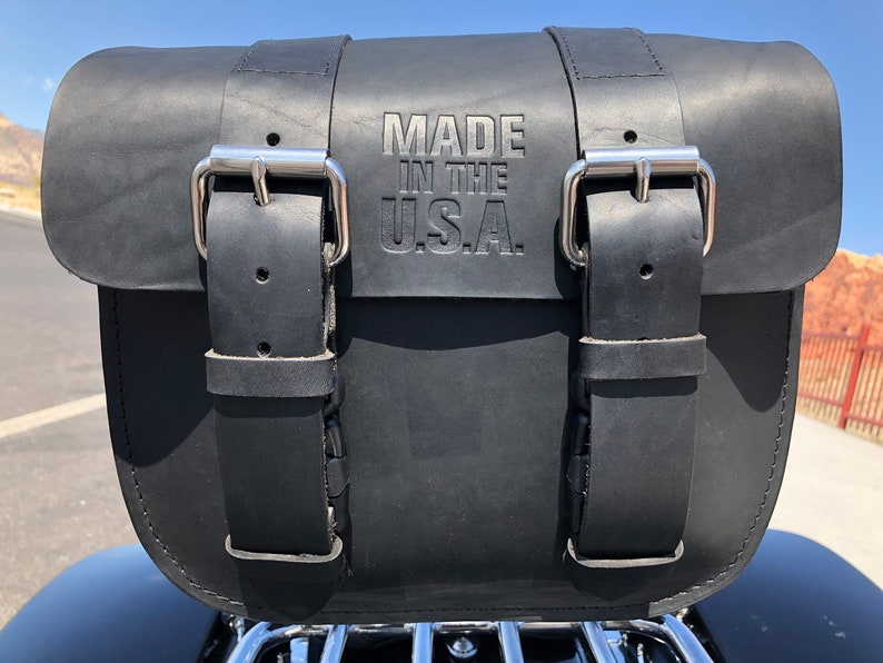 The Original Heavy Duty Motorcycle Bag Made In The U.S.A. image 0