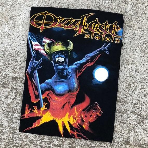 2003 Ozzfest Festival band shirt Size XL