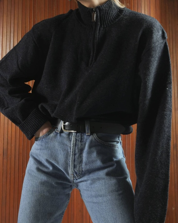 Vintage pure new wool sweater