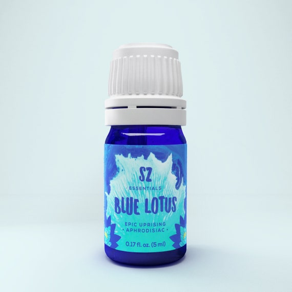 Blue lotus essential oil - 100% pure therapeutic grade. Divine! The real deal - Nymphaea Caerulea