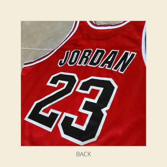 Jordan Jersey| Vintage Red Chicago Bulls Jersey - image 4