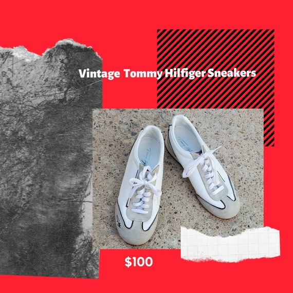 Rare Vintage Tommy Hilfiger Sneakers