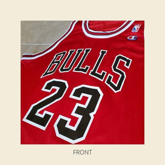Jordan Jersey| Vintage Red Chicago Bulls Jersey - image 3