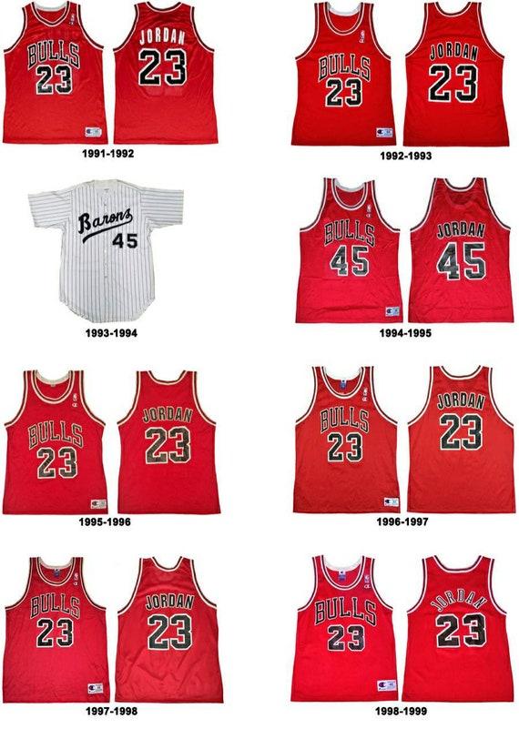 Jordan Jersey| Vintage Red Chicago Bulls Jersey - image 5