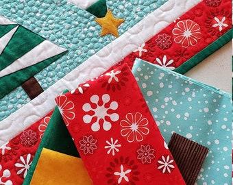 Snowy Pines Fabric Kit