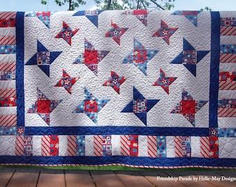 Quilt Pattern - Friendship Parade - PDF Pattern