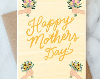 Mother's Day Card Coolest Pop Card Popsicle Card Happy Mother Day Card Mothers Day Popsicle Card To The Coolest Pop Card Card For Mothers