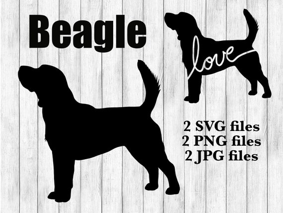 beagle svg Digital Download Instant Download dog svg SVG PNG Beagle JPG