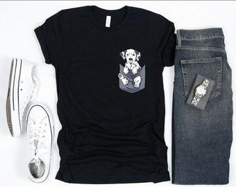 Disney Pluto The Pup Dog Animal Cart cool Kids Boy Girls Unisex Top T-Shirt 687