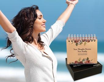 Milyya Inspirational Calendar 2021 - Perpetual Calendar with Daily Inspirational Quotes, Inspirational Gifts for Women