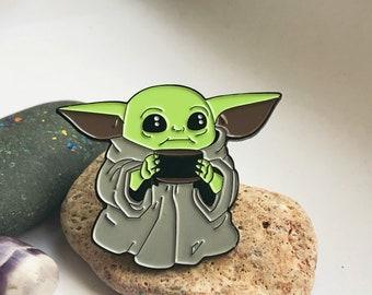 BABY YODA  Pin- Star Wars- The Mandalorian- Enamel Metal Lapel Pin Badge