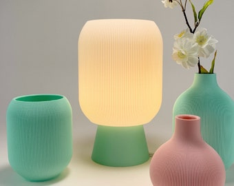 ASPEN Table Lamp - Designed and Sustainably made by Honey & Ivy Studio in Portland, Oregon