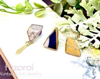 Kintsugi earring