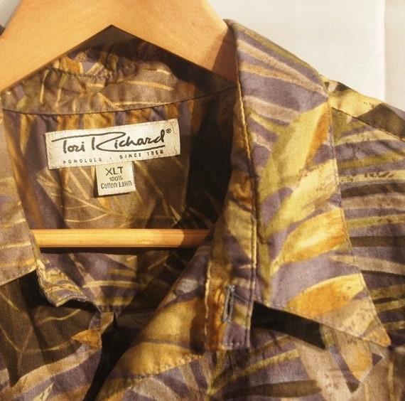 SALE Outrageous Retro Tori Richards Honolulu 1970s Two Piece Mod Pants Outfit