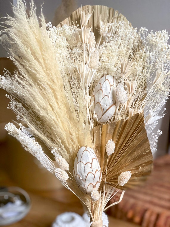 Pampa Hat in flowers and dried herbs