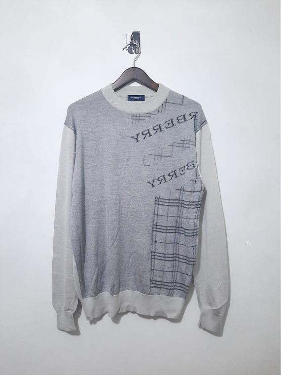 Mens Burberry Sweatshirt Knitwear