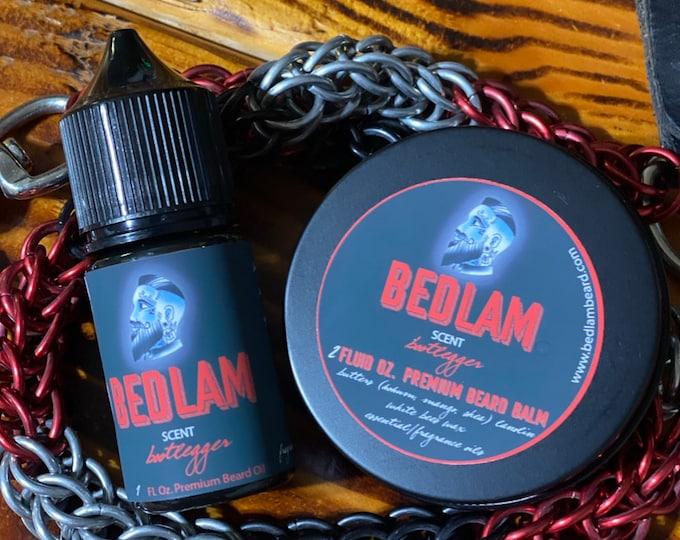 Bootlegger - A Smoky Sweet beard oil and balm
