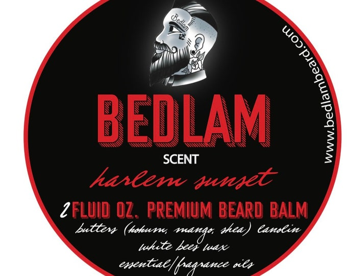 Harlem Sunset - A Citrus Blend of Bay Rum with Brazilian Mangos and Grapefruit beard oil and balm