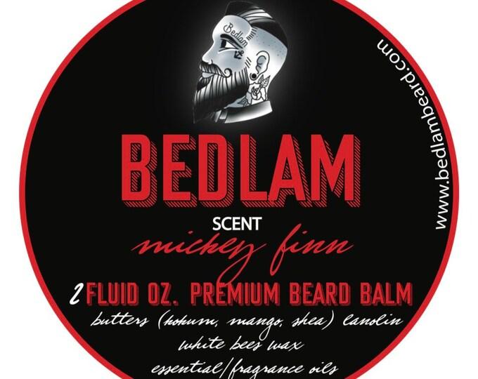 Mickey Finn - A Peach Sandalwood Vanilla Whiskey blended beard Oil and Balm