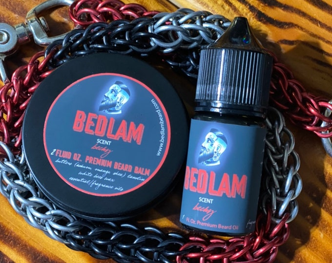 Becky - A Fresh and Clean Cologne Beard Oil and Balm