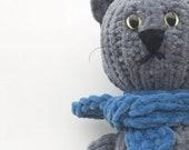 No-sew cat knitting pattern (a downloadable PDF file)