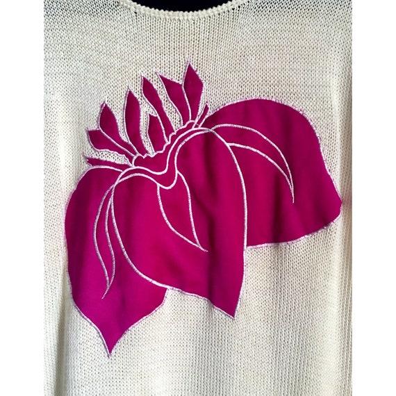 JESSICA LTD. | Vintage Embroidered Sweater - image 3