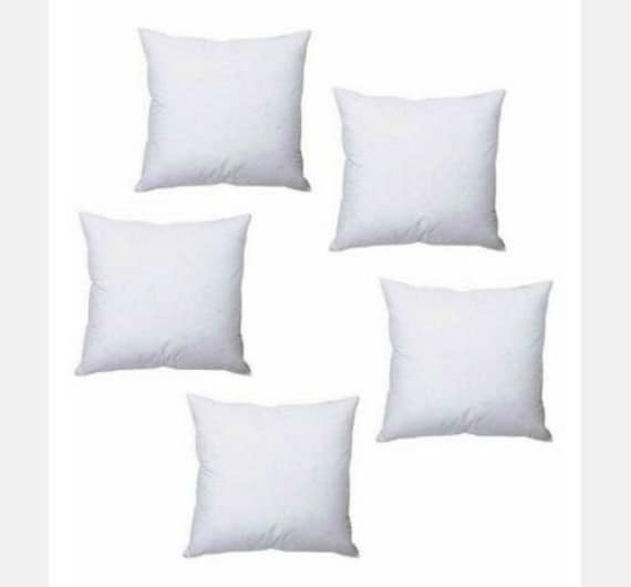"""12/"""" x 12/"""" Hollowfibre Cushion Pads Extra Filled Inner Inserts Fillers Scatters"""
