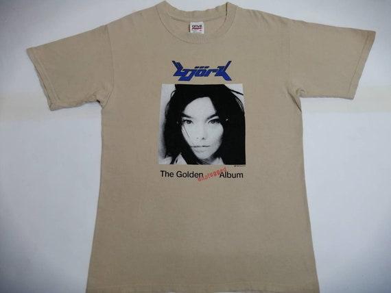 Vintage 90s Bjork T Shirt Rare