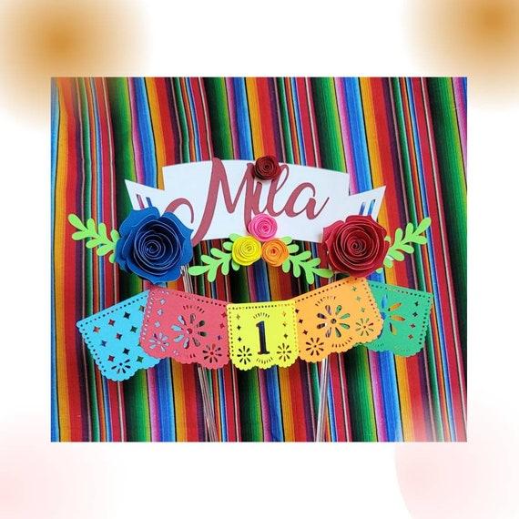 Fiesta Cake Topper/ Fiesta Party/ Mexican Fiesta