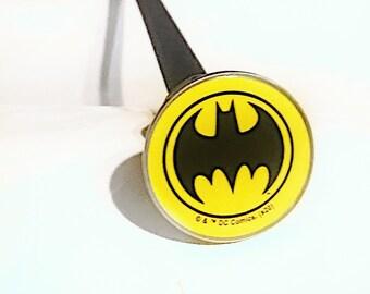 Hard Flex Rubber Batman Cane Chrome Plated Handle BDSM Gear Impact Play Discipline