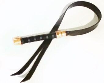 Whip Split Rubber Uni-Flogger Whip Impact Play BDSM Spanking