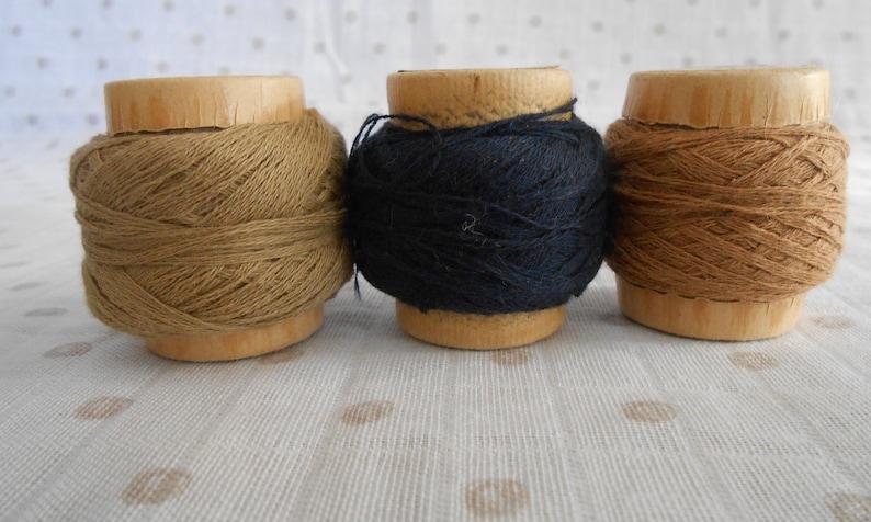 Vintage Cotton and Nylon Darning Thread
