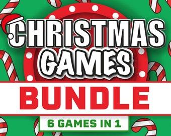 Christmas Games Bundle || Christmas Party Game Bundle || Games for Christmas || Christmas Games for Zoom || Virtual Christmas Party Game