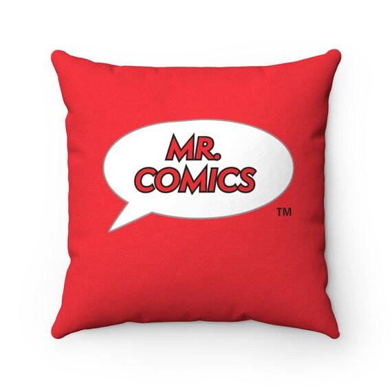 Mr. Comics Relaxing Spun Polyester Square Pillow