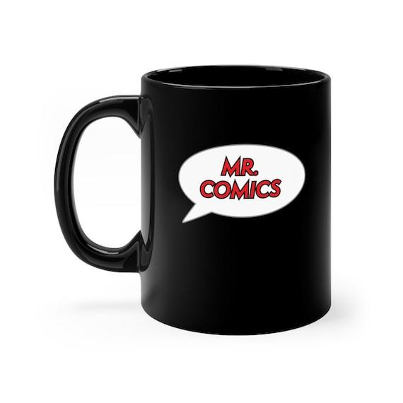 Mr. Comics Black mug 11oz