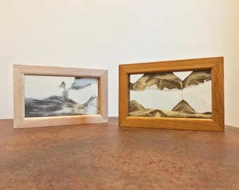 """Sand Picture - Handmade Interactive Moving Sand Art with Moving Landscapes - Small Size - 5.3"""" x 8.5"""""""